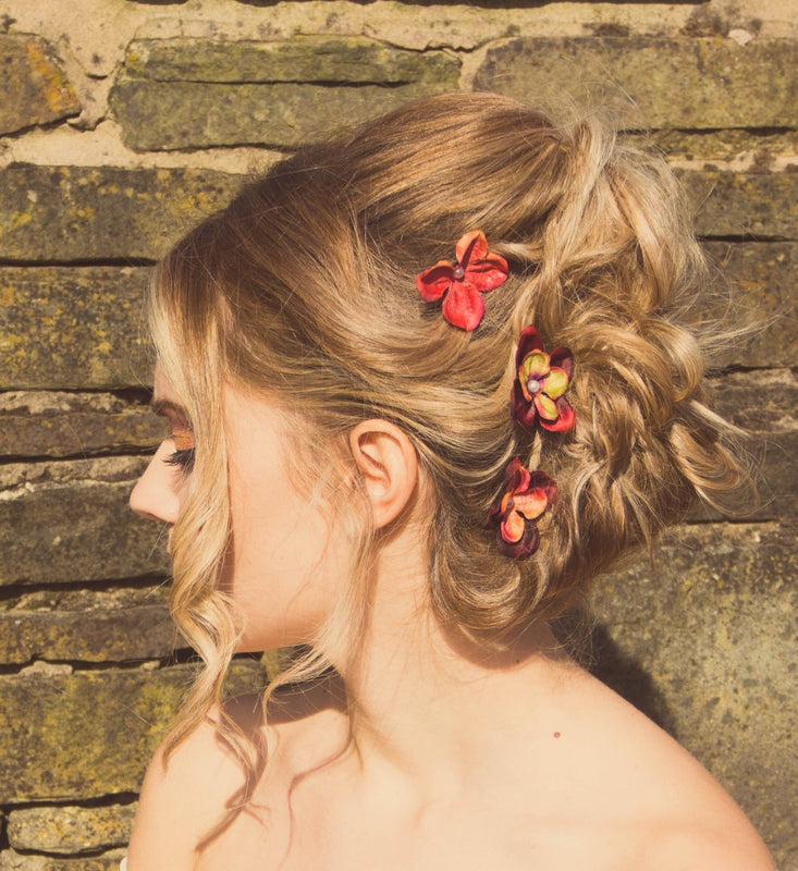 autumn wedding hair clips Flash Floozy