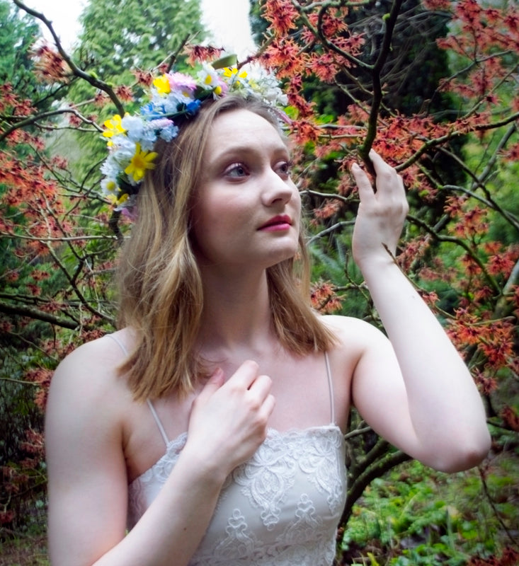 FREYA Spring Wild Flower Crown