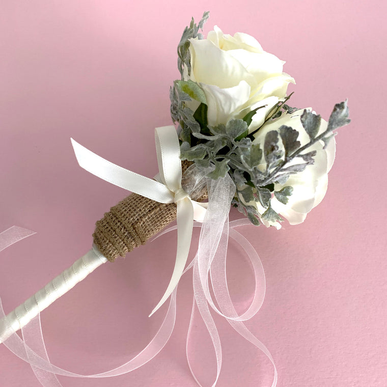 Rose Flower Girl Wand