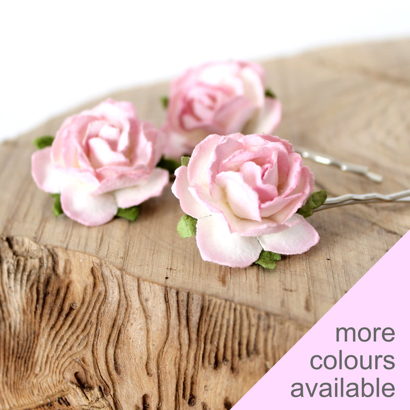 KATE Mulberry Rose Hair Clips
