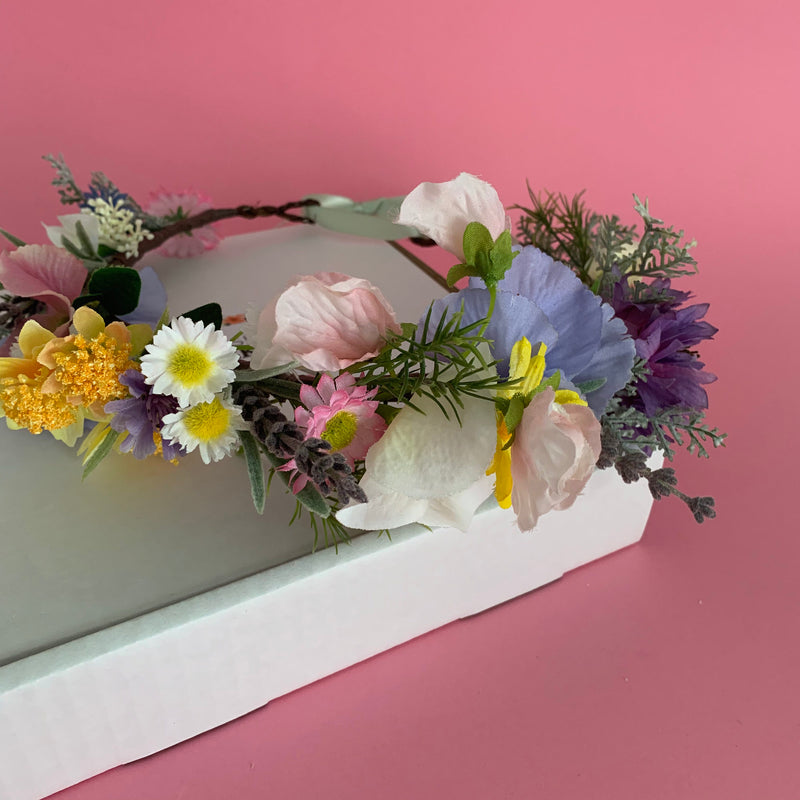 Make your own flower crown kit spring meadow
