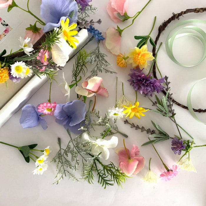 DIY Flower crown kit hen party