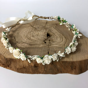 wedding flower crown uk