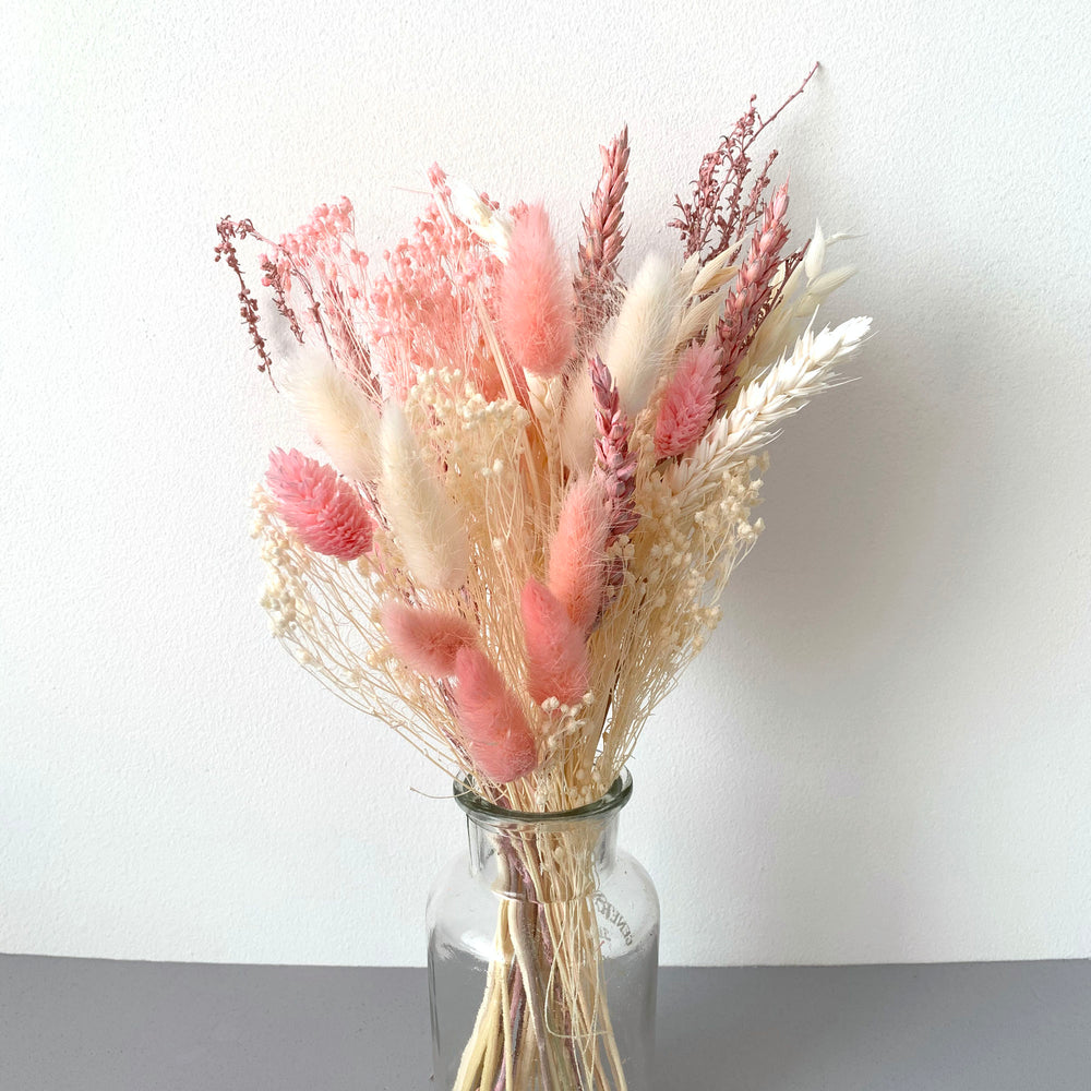 Load image into Gallery viewer, Pink sands MINI dried flower bouquet