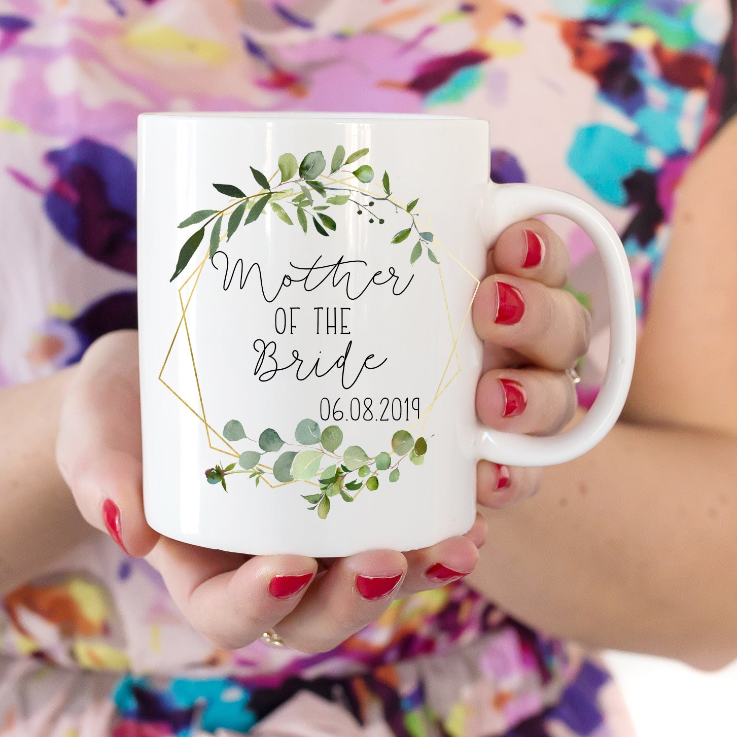 mother of the bride mug wedding gift