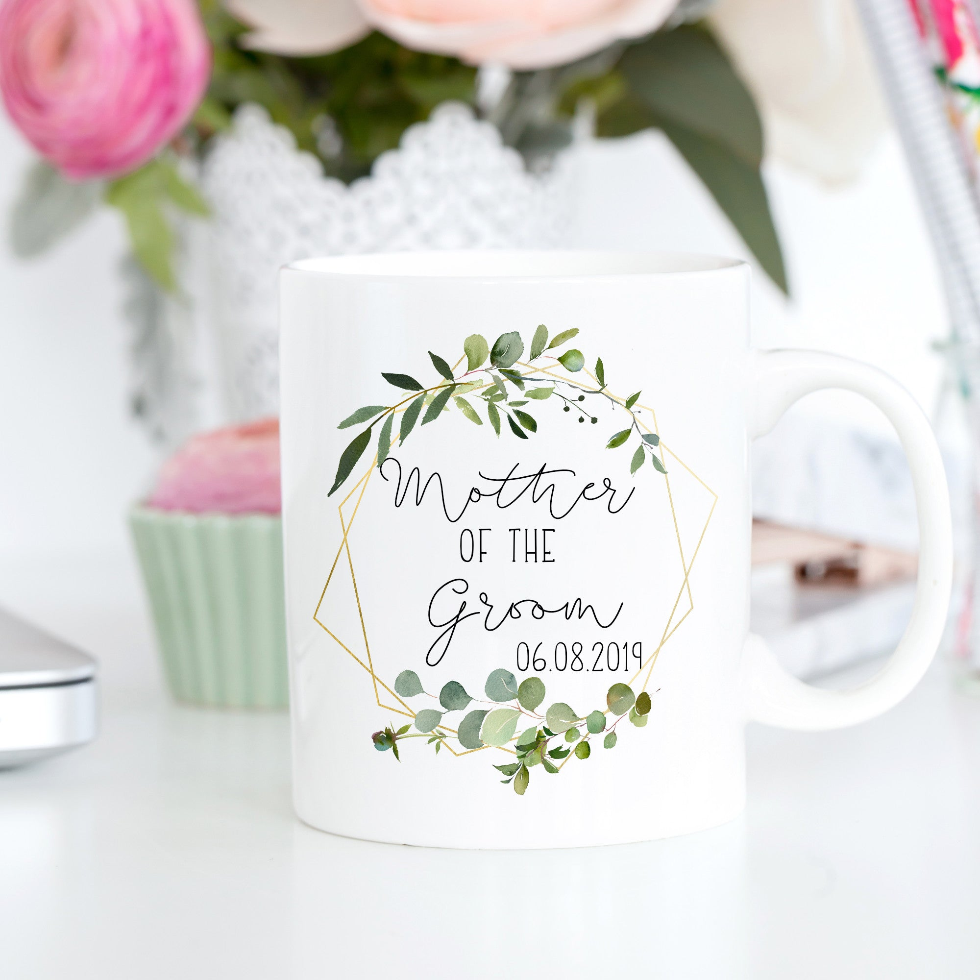 mother of the groom gift wedding mug