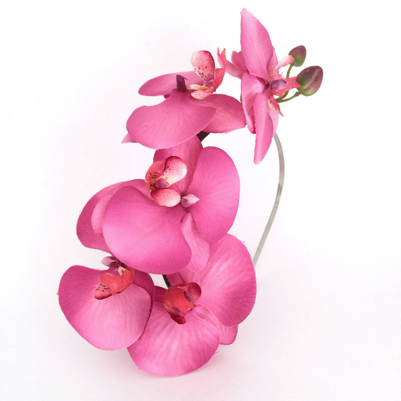 OPHELIA Pink Orchid Fascinator