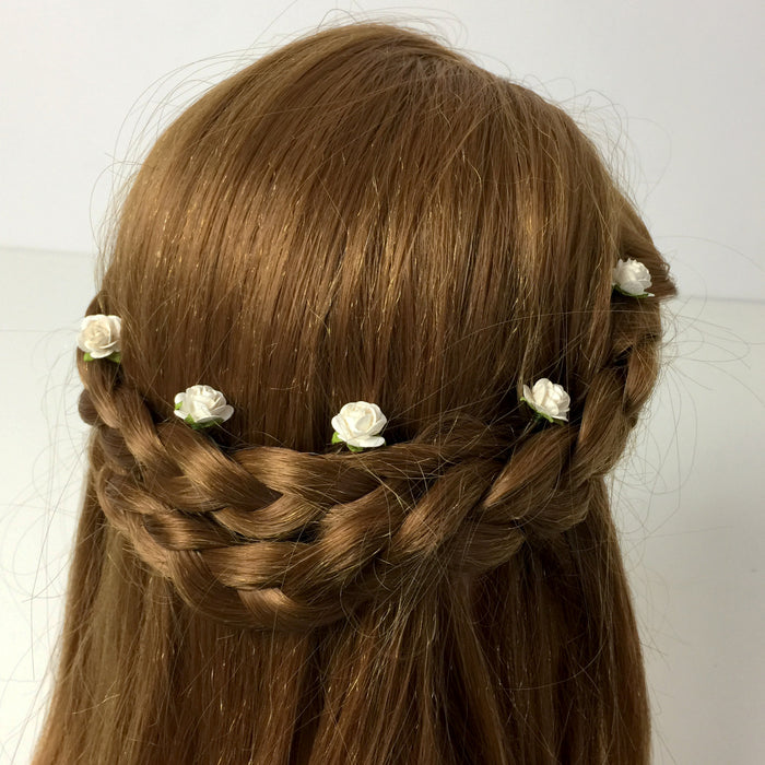 wedding hair flowers