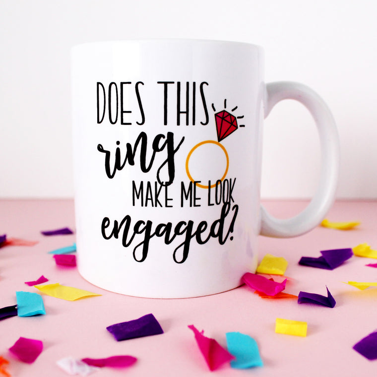 Does this Ring Engagement Mug