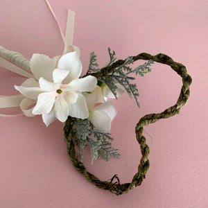 flower girl wand wedding