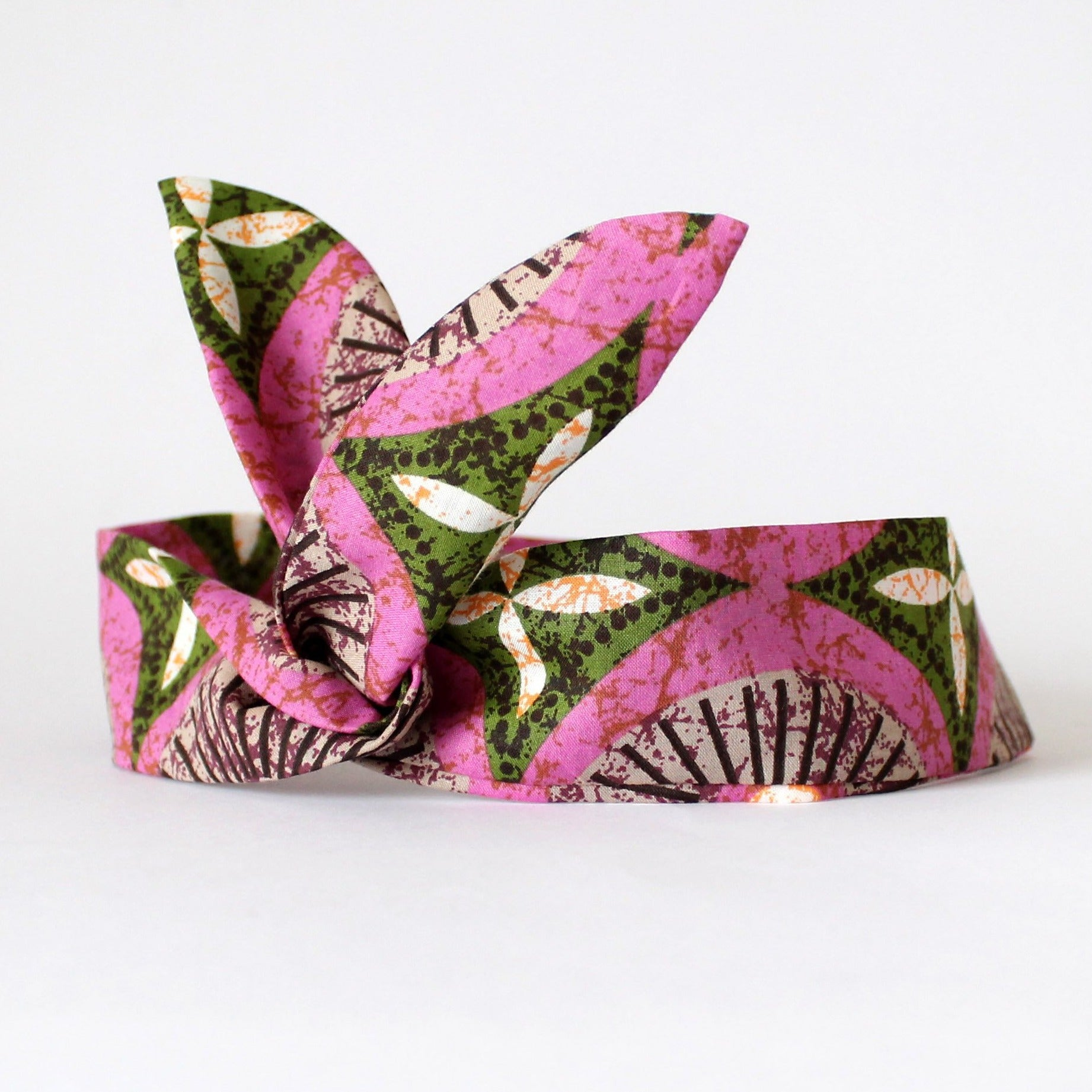 pink dolly bow headband