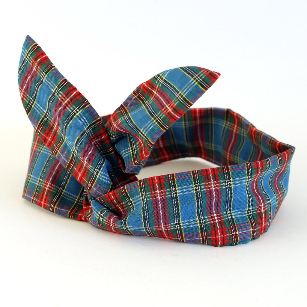tartan dolly bow