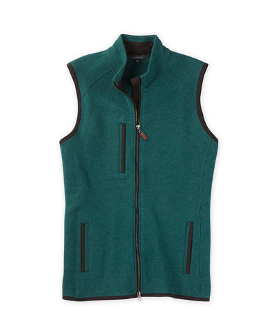 Extra Fine Boiled Merino Full-Zip Vest - turtleson