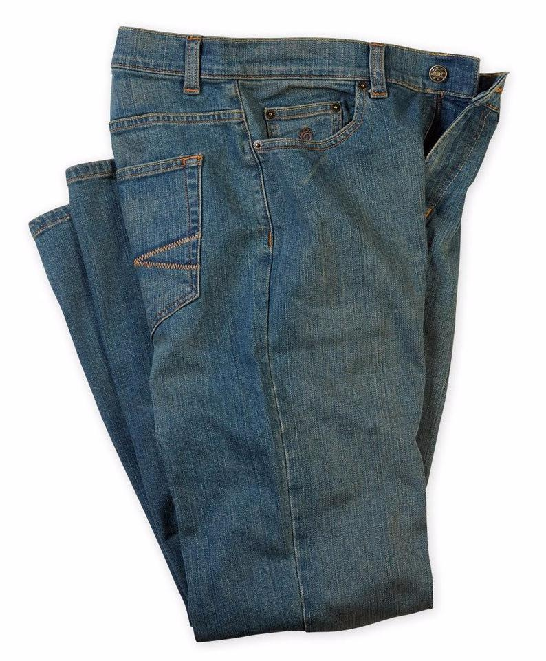 5-Pocket Denim Jean - Medium Wash - turtleson
