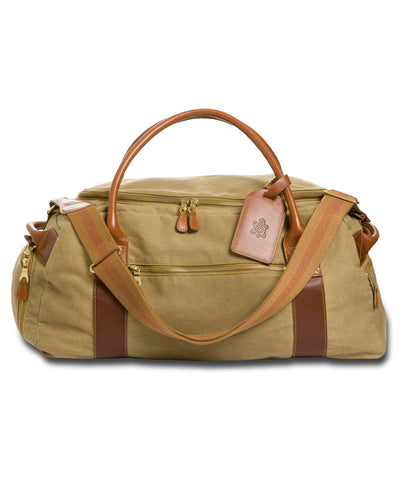 Waxed Canvas Duffel Bag - turtleson