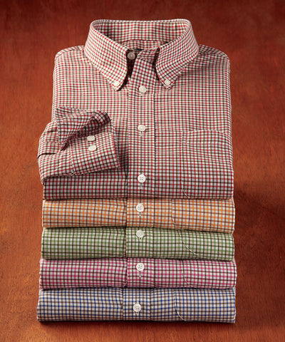 Farley Check Twill Sport Shirt - turtleson
