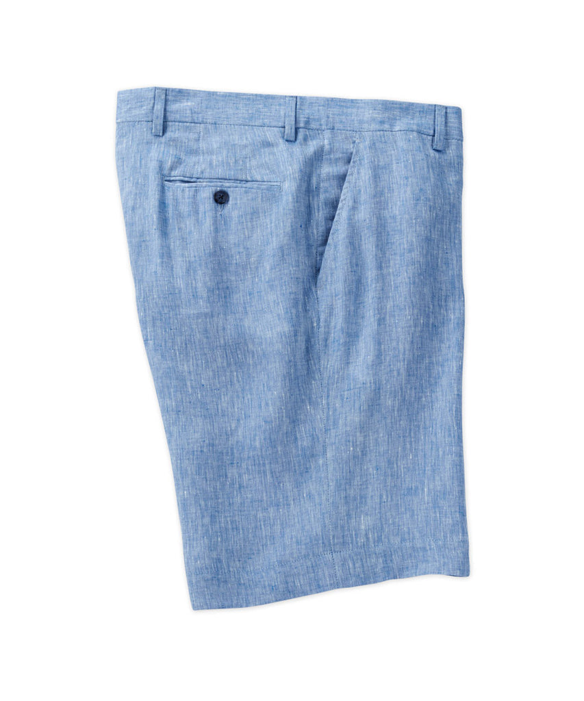 Cross-Dyed Linen Short - turtleson