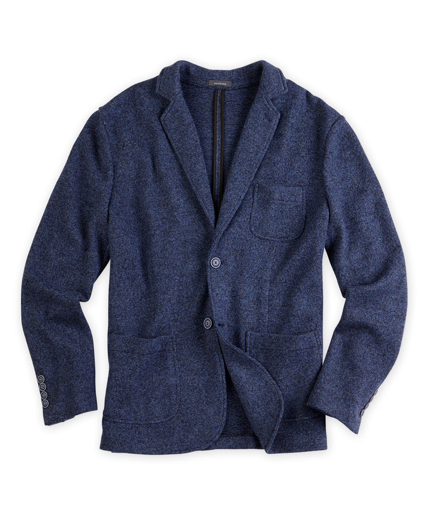 Boiled Merino Wool Sport Jacket - turtleson