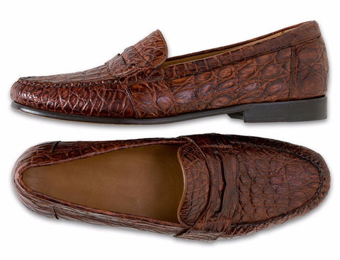 Authentic Crocodile Loafer - turtleson
