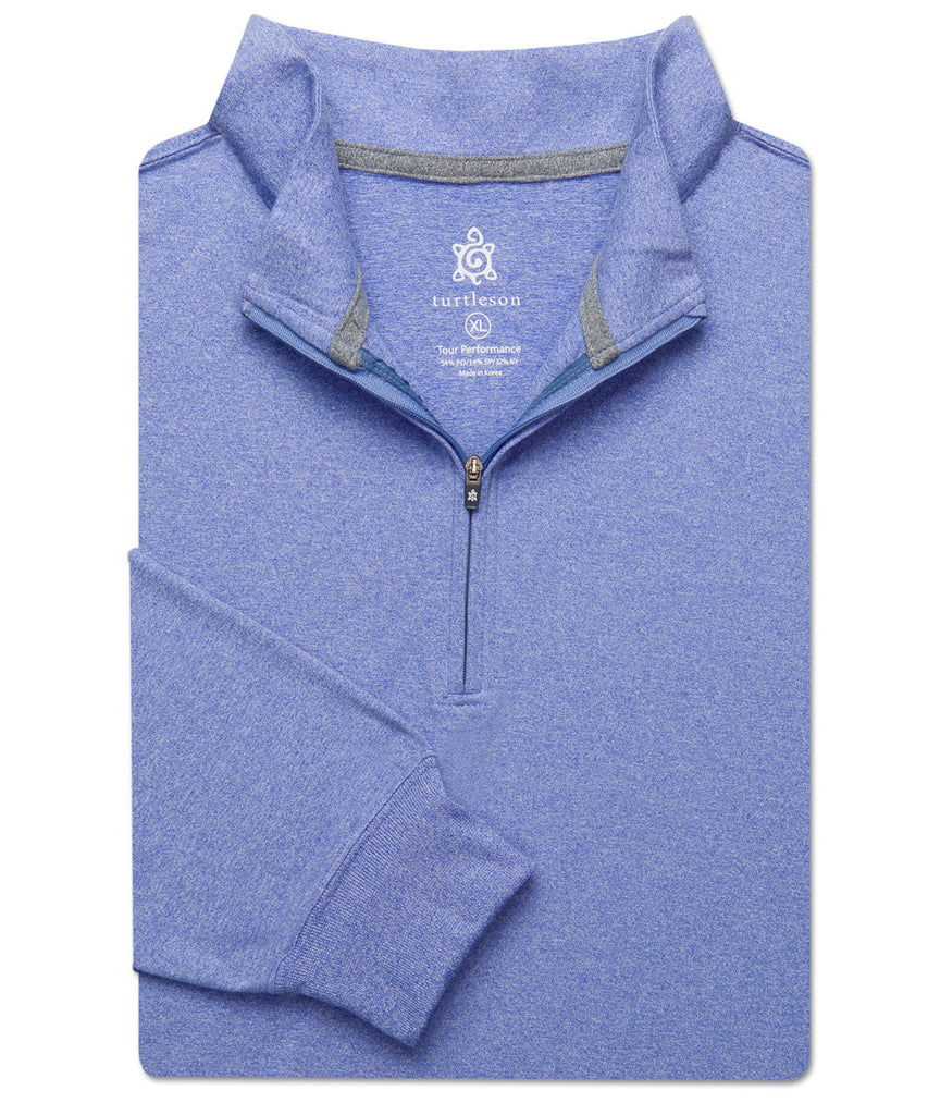 Siro Quarter-Zip Pullover - turtleson