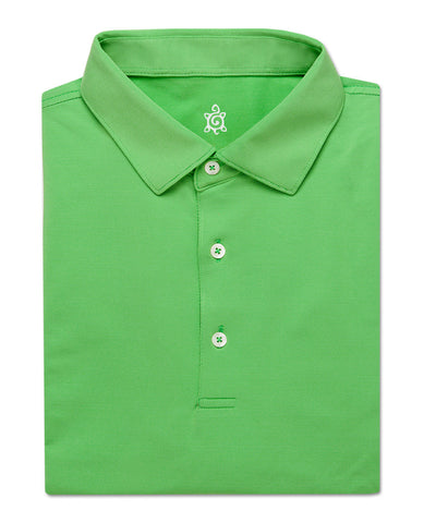 Fine Stripe Performance Polo - turtleson