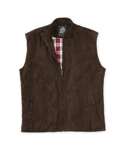 Quilted Suede Vest - turtleson