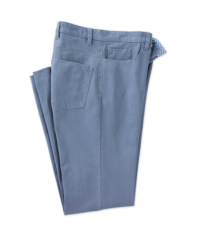 Canvas 5-Pocket Pant - turtleson