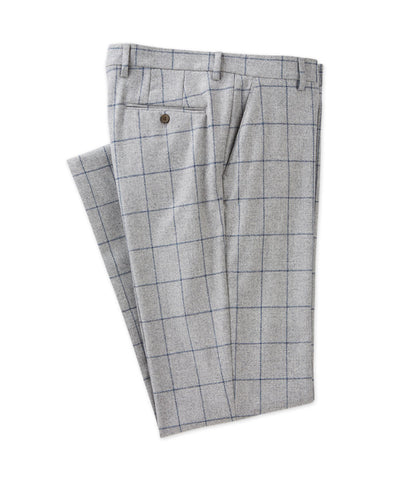 Lambswool Windowpane Trouser - turtleson