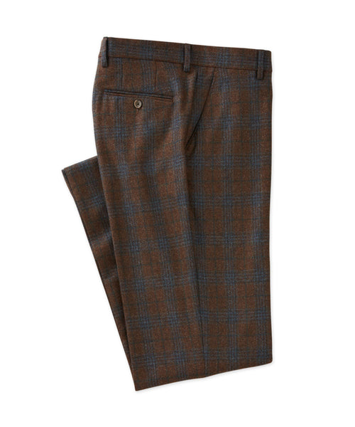 Lambswool Plaid Trouser - turtleson