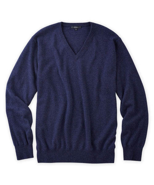 Cashmere V-Neck Sweater - turtleson