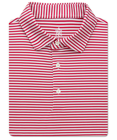 Shadow Stripe Performance Polo - turtleson