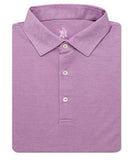 Plaited Oxford Pique Solid Polo - turtleson