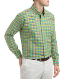 Warren Plaid Oxford Sport Shirt - turtleson