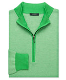 Pima Oxford Quarter-Zip Sweater - turtleson