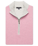 Pima Houndstooth Quarter-Zip Vest - turtleson