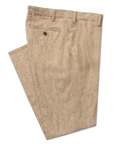 Cross-Dye Linen Trouser - turtleson