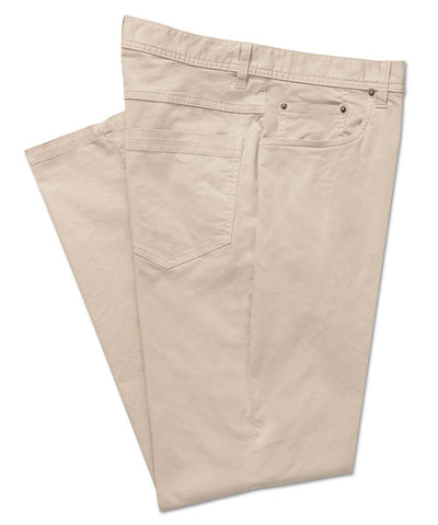 Italian Stretch-Cotton 5-Pocket Pant - turtleson