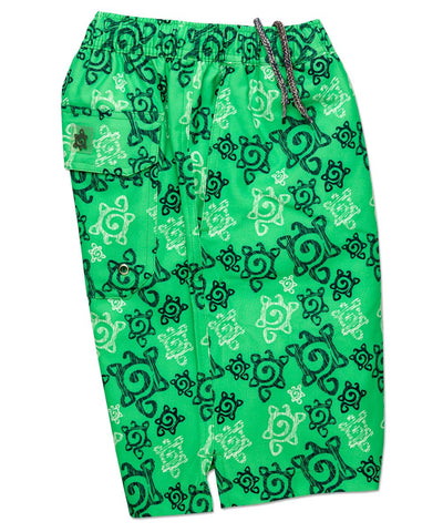 Scribble Turtle Swim Trunk - turtleson