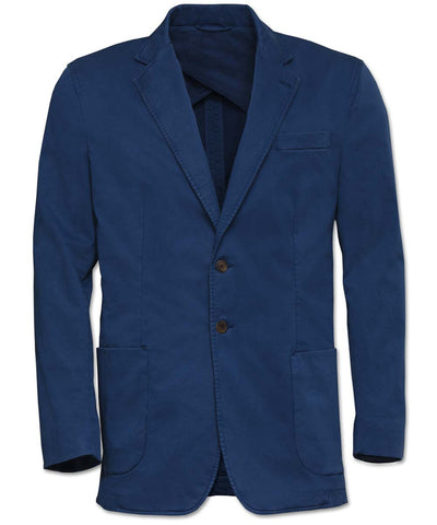 Landon Italian Stretch-Cotton Blazer - turtleson
