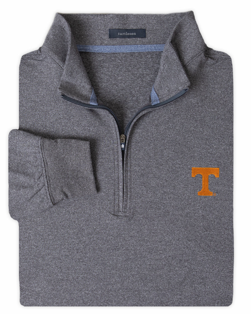 Siro Long Sleeve 1/4 Zip Pullover - UNIVERSITY OF TENNESSEE - 01105-103:LCH:TEAM