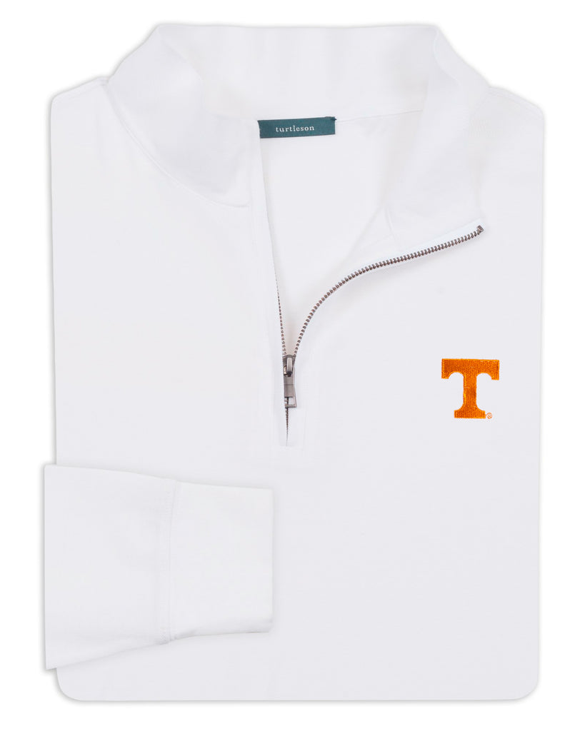 Royal Oxford Quarter-Zip Pullover - UNIVERSITY OF TENNESSEE - 01105-103:LCH:TEAM