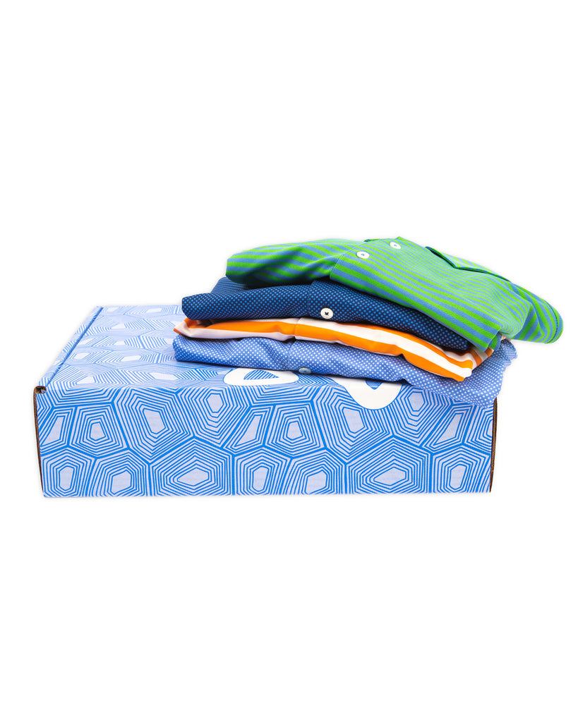 Mystery Box - 4 Polo Shirts for $125