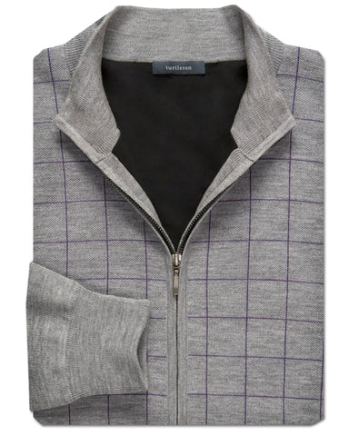 Merino Windowpane Lined Jacket - turtleson