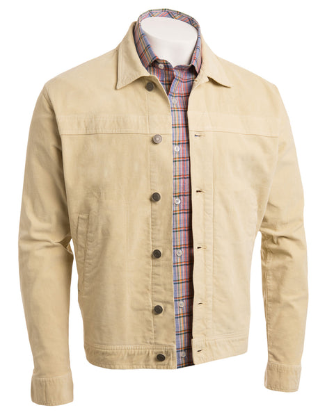 Italian Stretch-Corduroy Jean Jacket - turtleson