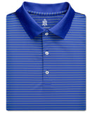 Pencil Stripe Performance Polo - turtleson