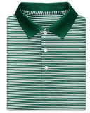Classic Stripe Performance Polo, Knit Collar - turtleson