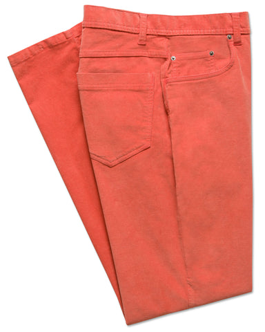 Italian Stretch-Corduroy 5-Pocket Pant - turtleson