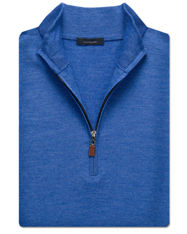 Extra Fine Merino Quarter-Zip Vest - turtleson