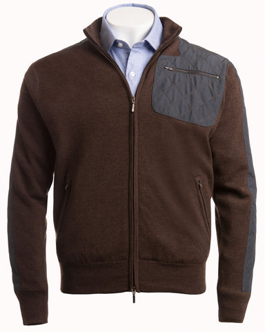 Merino Milano Stitch Full-Zip Jacket - turtleson