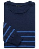 Merino Ship-Stripe Crewneck - turtleson